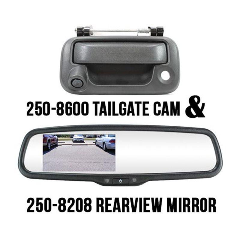 Tailgate Latch Camera