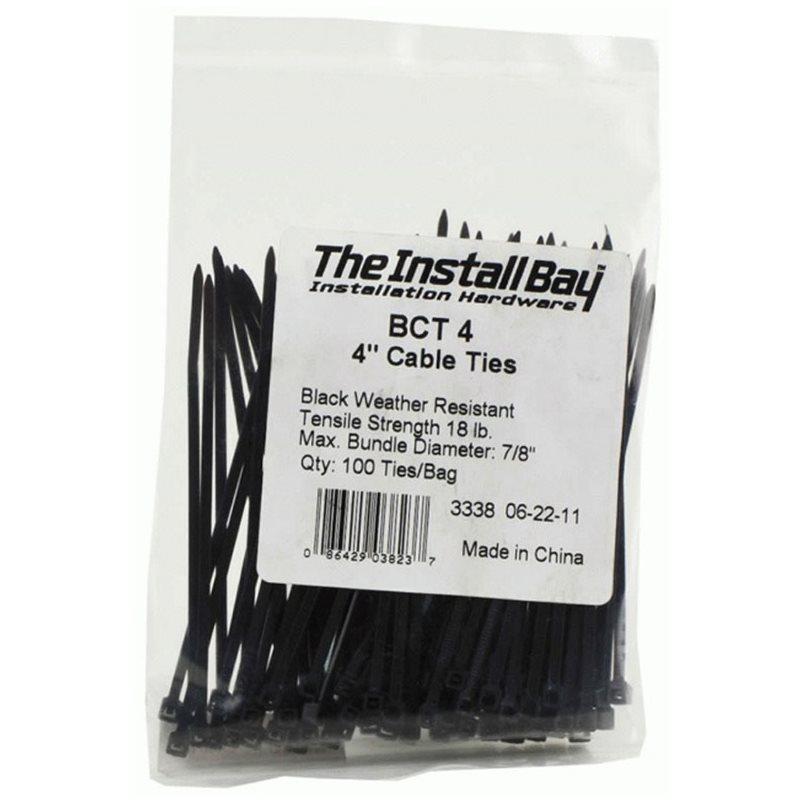 Black Cable Ties/Zip Ties