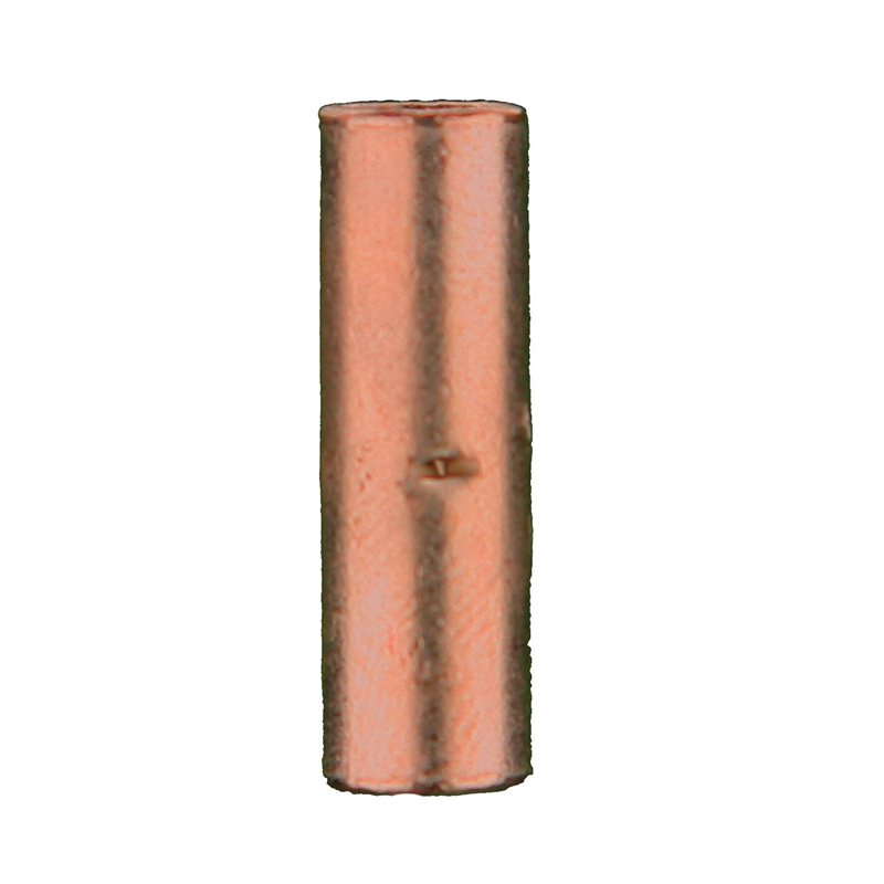 Uninsulated Copper Butt Connectors