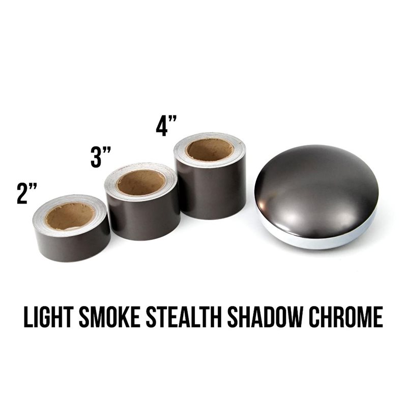Luxe LightWrap™ Light Smoke Stealth Shadow Chrome Roll