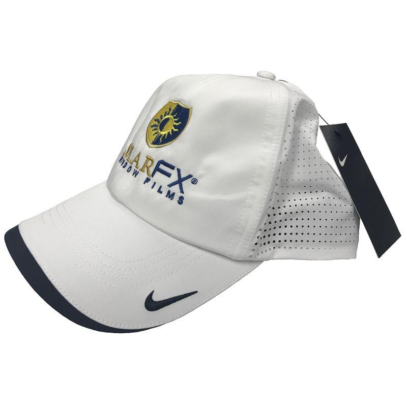 White Nike Dri-Fit Hat