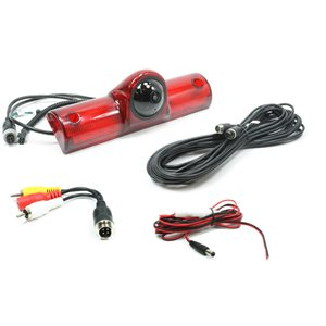 ROSTRA - 3RD BRAKE LIGHT CAMERA , IR LED'S, 33' EXT HARNESS