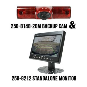 "ROSTRA - 7"" MONITOR WITH 3RD BRAKE LIGHT CAMERA"