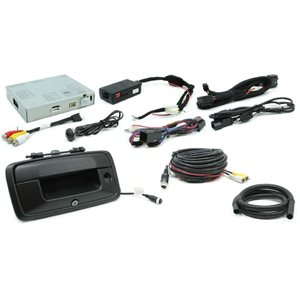 ROSTRA - GM OE LCD SCREEN INTERFACE W / TAILGATE CAMERA