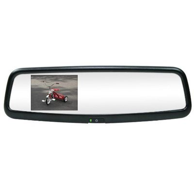 """ROSTRA - 3.5"""" MAGNA REARVIEW MIRROR LCD MONITOR / MIRROR"""