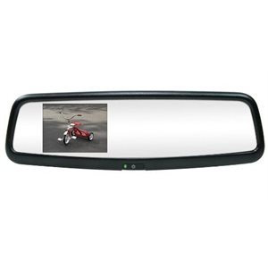 "ROSTRA - 3.5"" MAGNA REARVIEW MIRROR LCD MONITOR / MIRROR"