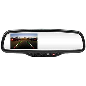 """ROSTRA - 4.3"""" MIRROR WITH ONSTAR / COMPASS / TEMP"""