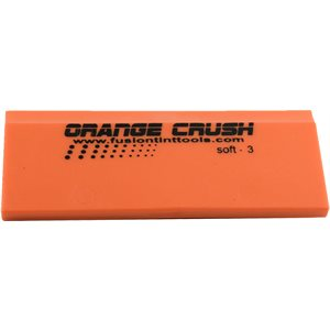 "FUSION - 5"" ORANGE CRUSH SQUEEGEE BLADE"