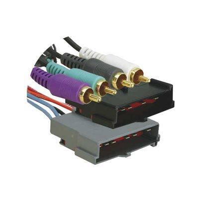 "12"" 86-95 FORD W / 5 WIRE SPK PLUG AT RADIO AMP INT"