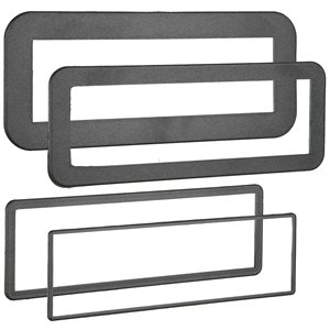 4 PACK PLASTIC DIN TRIM RING