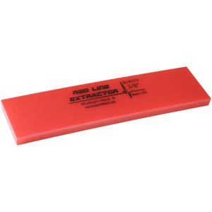 """FUSION - 8"""" REDLINE 3 / 8"""" THICK """"NO BEVEL"""" SQUEEGEE"""