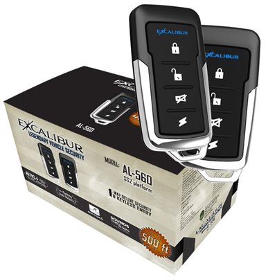 EXCALIBUR - KEYLESS ENTRY & SECURITY SYSTEM