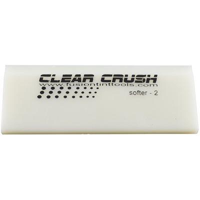 "FUSION - 5"" CLEAR CRUSH SQUEEGEE BLADE"