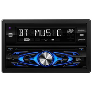 DUAL - DOUBLE DIN MP3 / CD RECIEVER W / BLUETOOTH