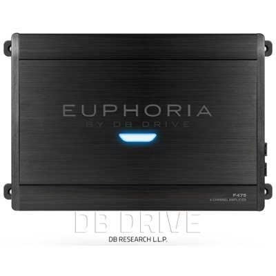EUPHORIA 4 X 75 WATTS STEREO AMPLIFIER