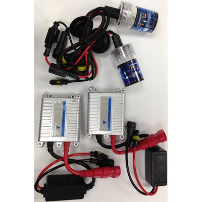 H4 SERIES HID KIT - 8K BULBS