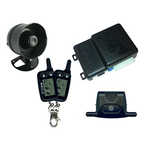 K9 - DLX ALARM WITH 2-LCD LONG RANGE REMOTES