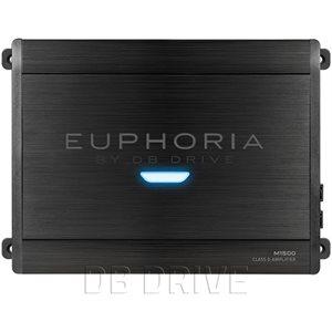 EUPHORIA 1 X 1500 WATT @ 1 OHM CLASS D AMPLIFIER