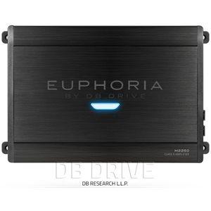 EUPHORIA 1 X 2250 WATT @ 1 OHM D CLASS AMPLIFIER