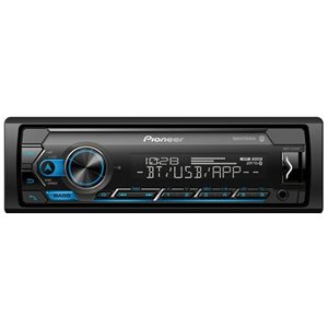 PIONEER - SINGLE MECHLESS MEDIA RECEIVER W / BLUETOOTH
