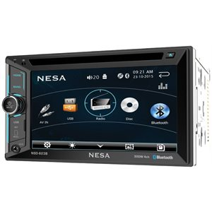 "NESA - 6.2"" DOUBLE DIN WITH BLUETOOTH"