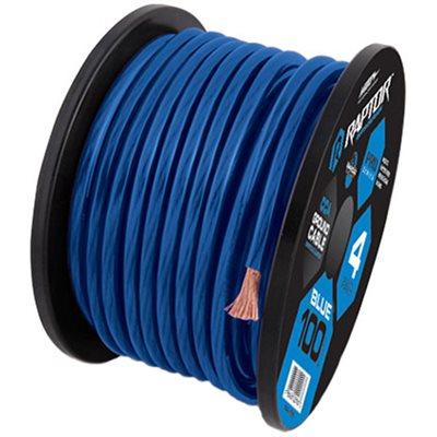 RAPTOR 25FT 1 / 0 GAUGE BLUE CCA WIRE