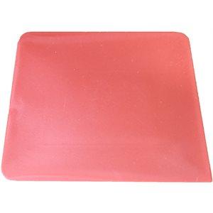 FUSION - RED HARD CARD SQUARE CORNER