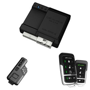 EXCALIBUR - 4 BUTTON LED 2-WAY KEYLESS ENTRY & RS