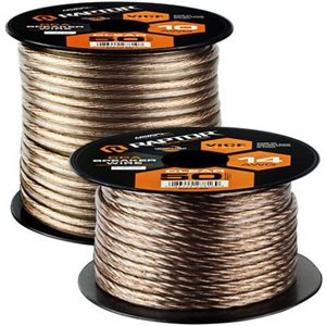RAPTOR 100FT 10 GAUGE SPEAKER WIRE CCA