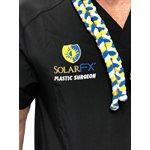 SOLARFX BLACK SCRUB TOP - SMALL