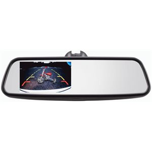 "IBEAM REVIEW MIRROR WITH 4.5"" MONITOR"