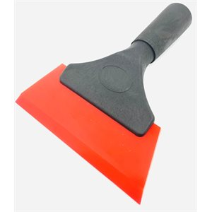 RED SQUEEGEE WITH HANDLE