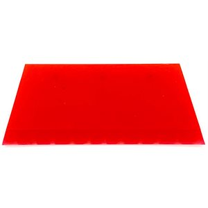 "5"" CROPPED RED BLADE SQUEEGEE"
