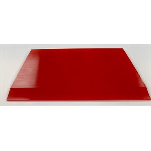 "1010 TOOLS - 5"" CROPPED RED BLADE SQUEEGEE"