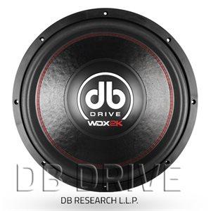 """DB DRIVE - 15"""" DVC WOOFER - 2000 WATTS"""