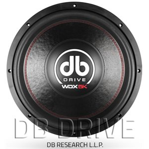 """DB DRIVE - 18"""" DVC WOOFER - 5000 WATTS"""