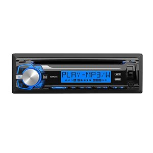 DUAL - INDASH MP3 / CD RECEIVER